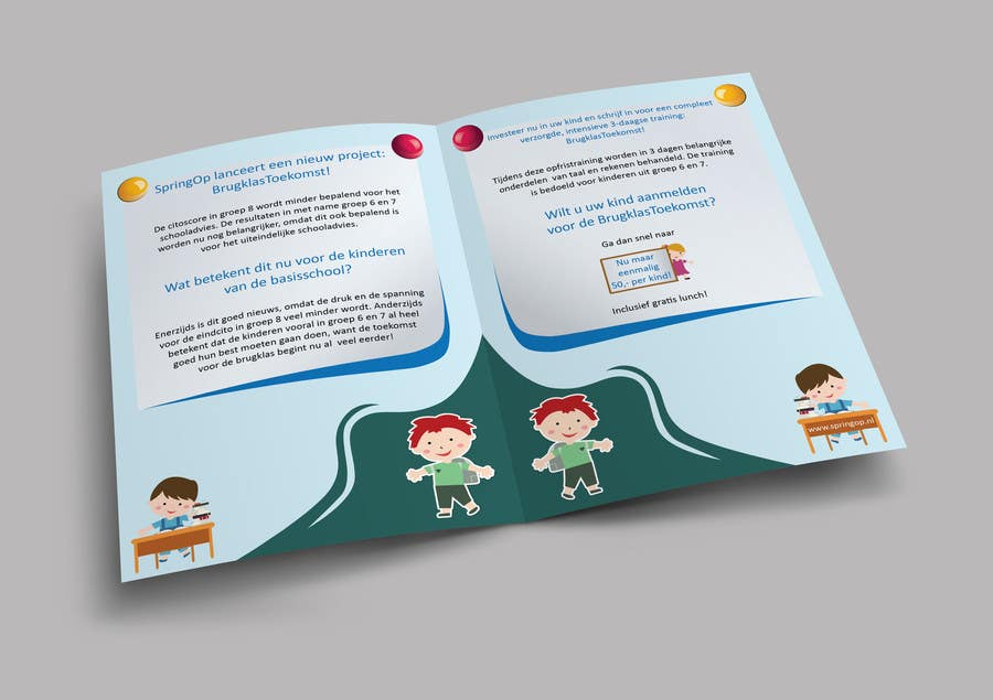 Entry by superiar for design a brochure for kids in primary