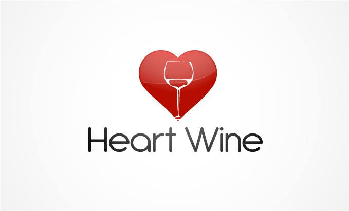 #211 for Logo Design for Heart Wine (love wine) by logoarts