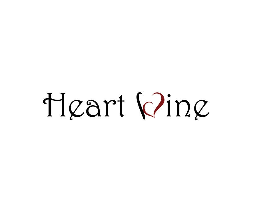 #42 for Logo Design for Heart Wine (love wine) by elpisk