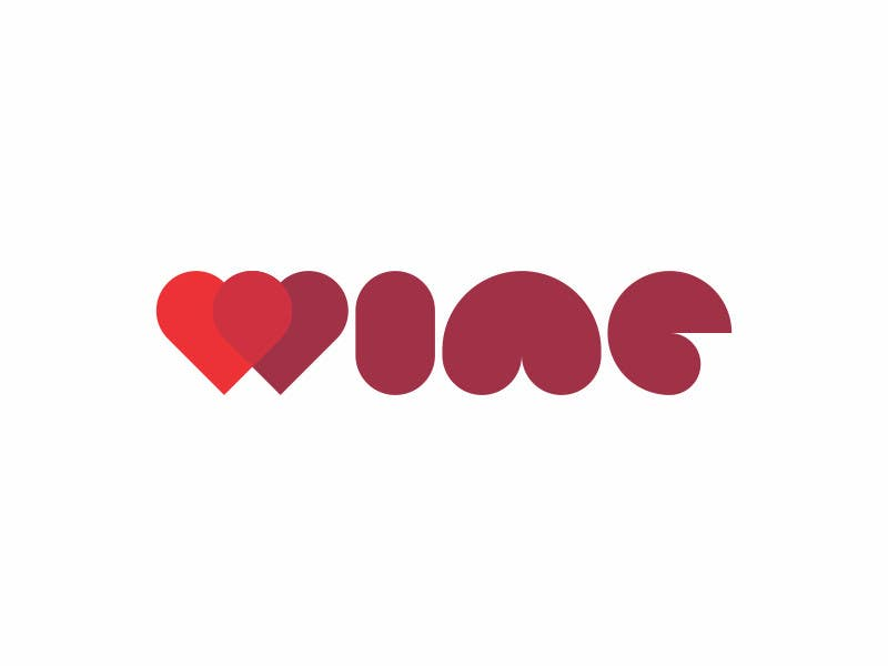 #287 for Logo Design for Heart Wine (love wine) by edvans