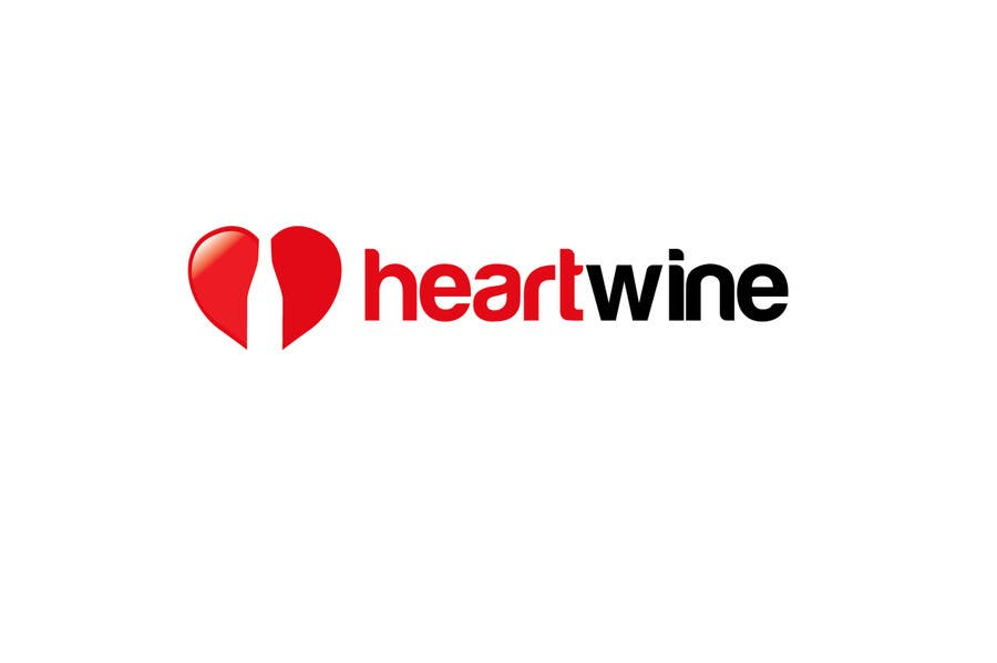 #296 for Logo Design for Heart Wine (love wine) by smarttaste