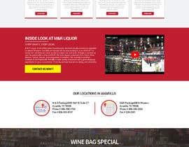 nikil02an tarafından Design a Website Mockup for Liquor Store için no 47