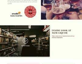 bashasibuan tarafından Design a Website Mockup for Liquor Store için no 41