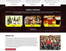 WebCraft111 tarafından Design a Website Mockup for Liquor Store için no 34