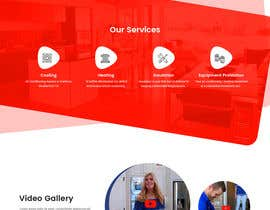 #40 for Design a Website Mockup for AC & Heating Company by syrwebdevelopmen