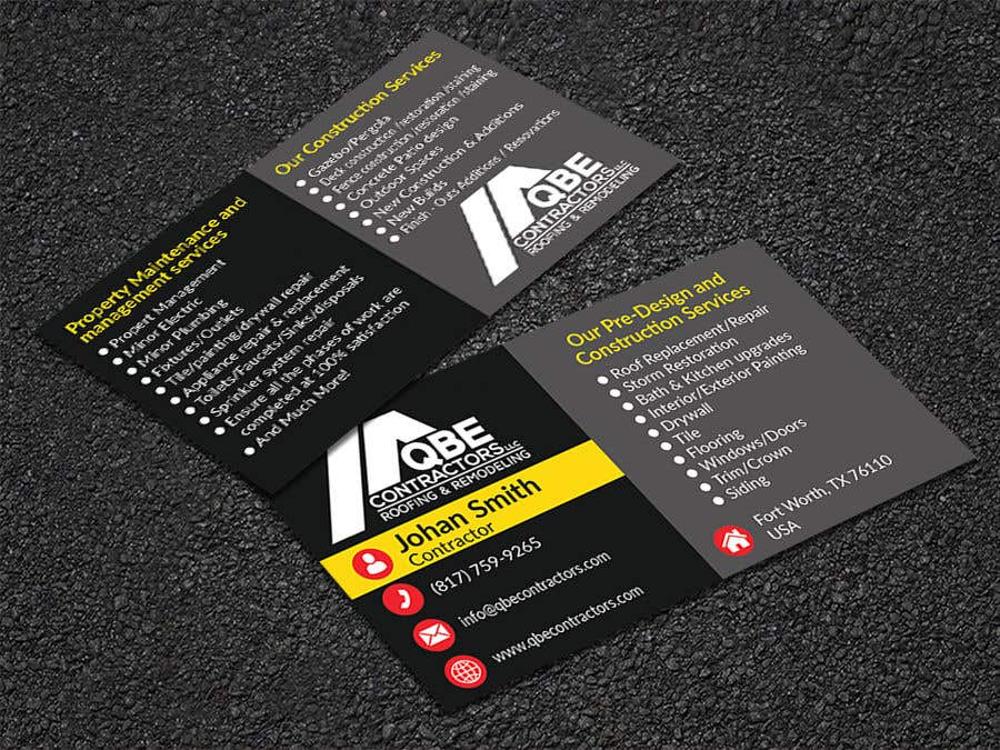 Entry #106 by sohagmiah944 for Design some Business Cards   Freelancer