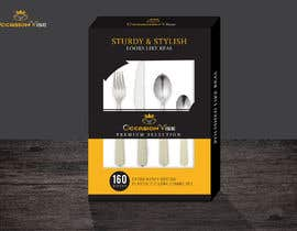 #14 untuk We need a Beautiful packaging for a cutlery set box oleh Onlynisme
