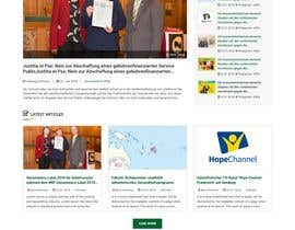 #143 for New layout for news agency website by princevenkat