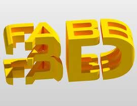#7 for Combined 2D and 3D Logo for 3D printing / CAD service by jjrodl