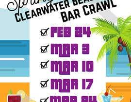 jazminereyes tarafından Design a Social Media Advertisement for a bar crawl için no 2