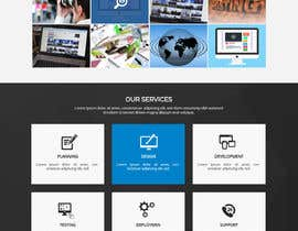 #30 for Design Landing Page for WEB DESIGN COMPANY by WebCraft111