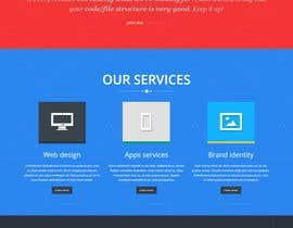 #25 for Design Landing Page for WEB DESIGN COMPANY by irfannosh