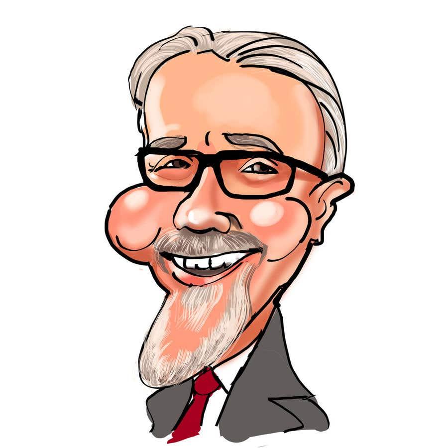 Kilpailutyö #68 kilpailussa Create a Cartoon / Caricature of my Boss !