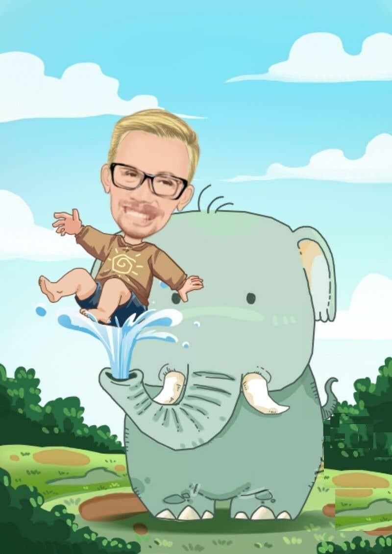 Kilpailutyö #64 kilpailussa Create a Cartoon / Caricature of my Boss !