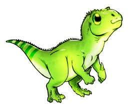 Nro 16 kilpailuun Dinosaur cartoon character - graphic design needed. käyttäjältä chrisjohnombiga