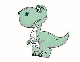 #25 cho Dinosaur cartoon character - graphic design needed. bởi alohads