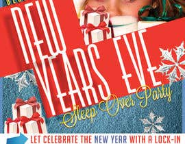 #9 cho Design a Flyer for a New Years Eve Sleep Over Party bởi HamzaBarbouch