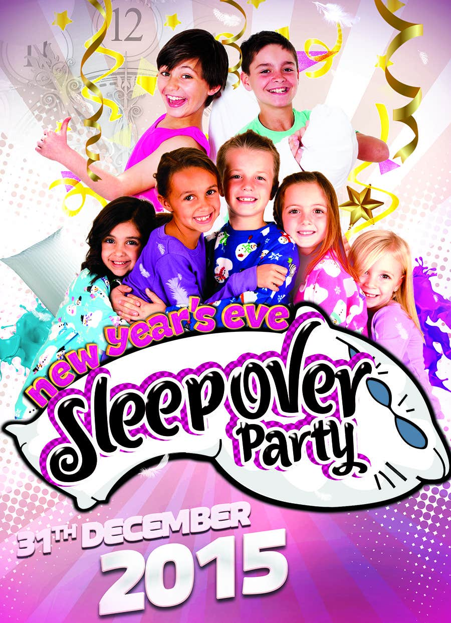 Bài tham dự cuộc thi #                                        8                                      cho                                         Design a Flyer for a New Years Eve Sleep Over Party