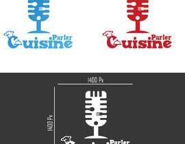 #104 for Concevoir un nouveau logo de podcast culinaire by aymanelghandour