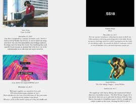 #64 for Design a Streetwear Labels wholesale buyer book (Cover pages 2x, intro page, business page, business information and contact details) by vince198