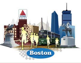 #9 for Illustration Design for Generic Runners in Boston by aneesgrace