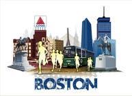 Bài tham dự #11 về Graphic Design cho cuộc thi Illustration Design for Generic Runners in Boston