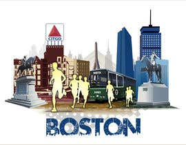 #11 for Illustration Design for Generic Runners in Boston by aneesgrace