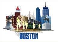 Bài tham dự #10 về Graphic Design cho cuộc thi Illustration Design for Generic Runners in Boston