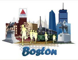 #12 cho Illustration Design for Generic Runners in Boston bởi aneesgrace