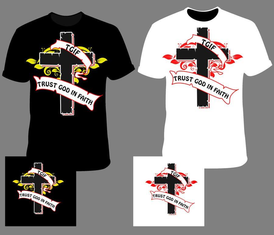 Penyertaan Peraduan #                                        31                                      untuk                                         Design a T-Shirt for faith based company