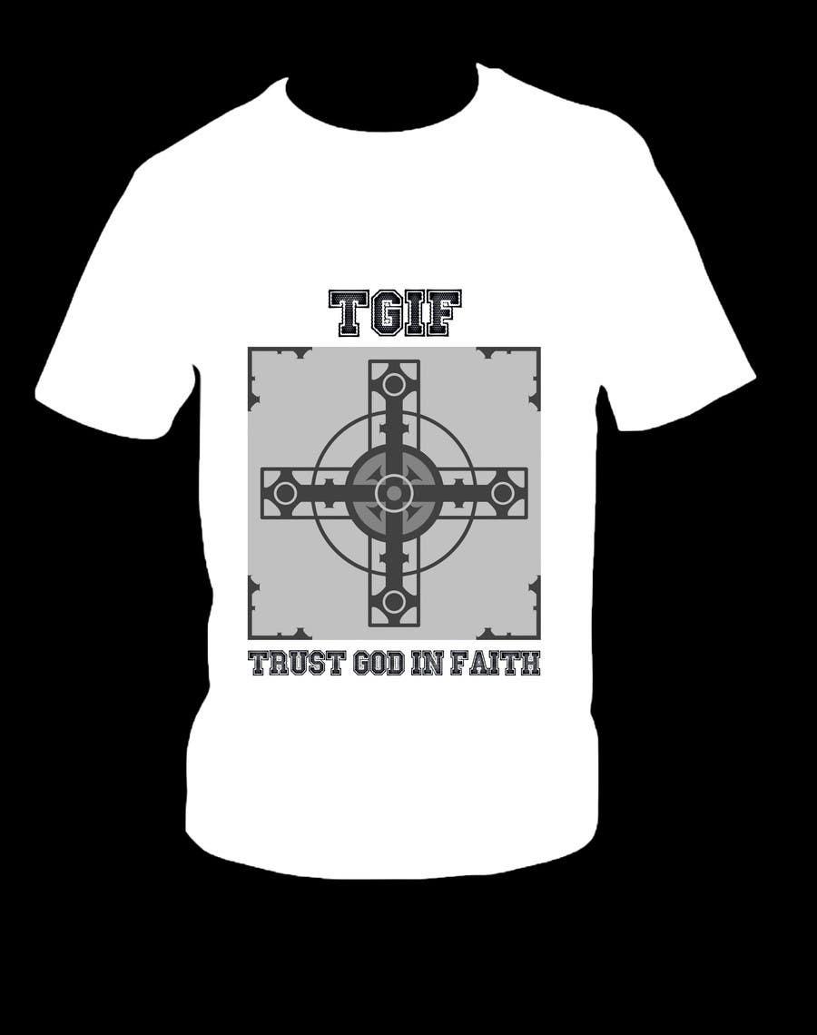 Penyertaan Peraduan #                                        10                                      untuk                                         Design a T-Shirt for faith based company