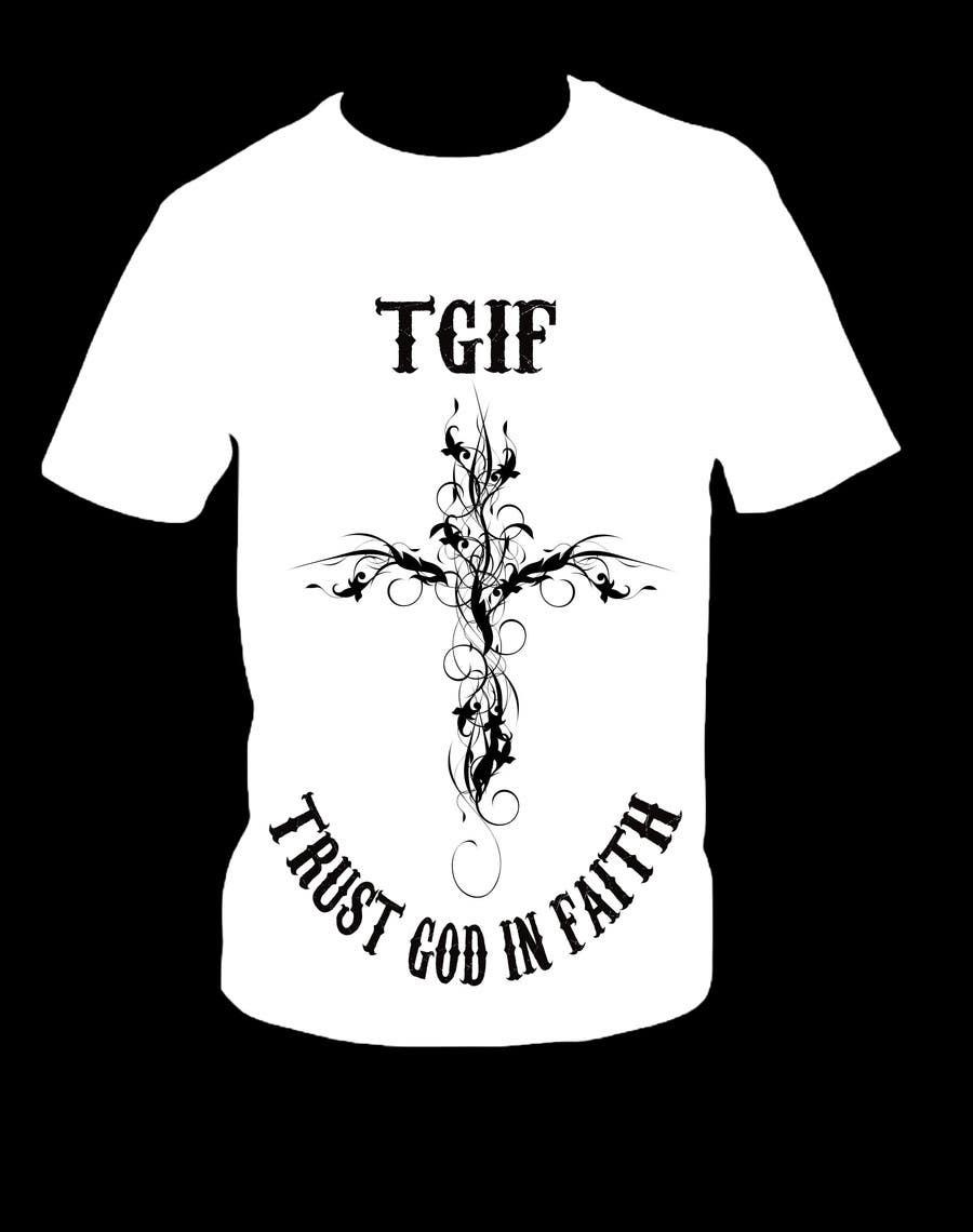 Penyertaan Peraduan #                                        11                                      untuk                                         Design a T-Shirt for faith based company