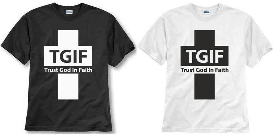 Penyertaan Peraduan #                                        25                                      untuk                                         Design a T-Shirt for faith based company