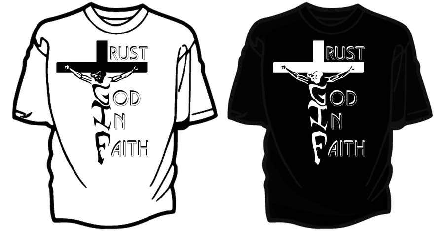 Penyertaan Peraduan #                                        18                                      untuk                                         Design a T-Shirt for faith based company