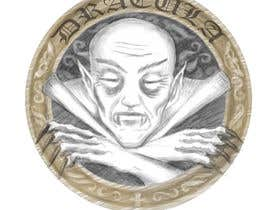 #16 for Sketch a realistic looking Dracula Coin by diaco80