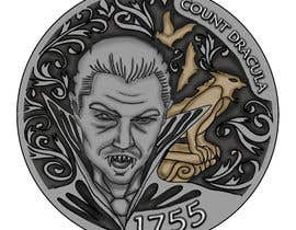 #38 for Sketch a realistic looking Dracula Coin by diaco80