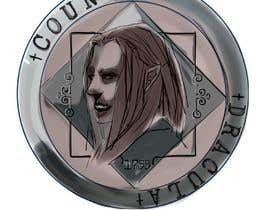 #10 for Sketch a realistic looking Dracula Coin by DarkJealousy