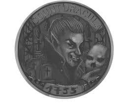 #35 for Sketch a realistic looking Dracula Coin by NantuSorina