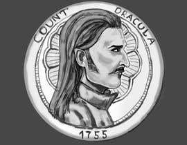 #19 for Sketch a realistic looking Dracula Coin by Mixop