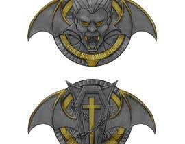 #44 for Sketch a realistic looking Dracula Coin by CheeFai