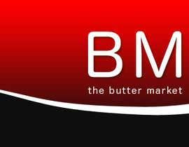 #22 para Design a Banner/Logo for the word Buttermarket por mansurovazamat