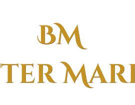 #14 para Design a Banner/Logo for the word Buttermarket por odiseya