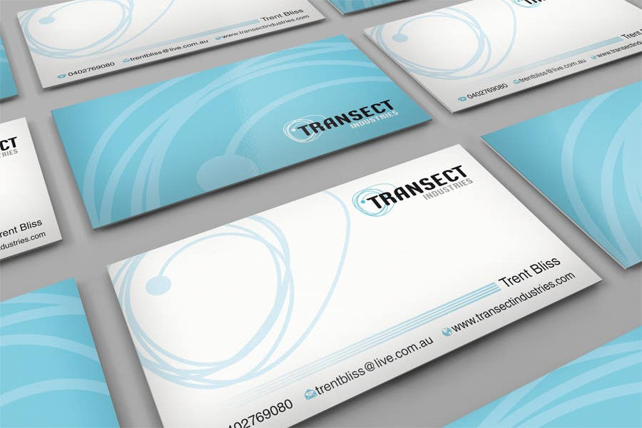 #57 for Business Card Design for Transect Industries by midget