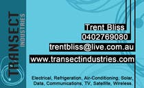 Bài tham dự #14 về Graphic Design cho cuộc thi Business Card Design for Transect Industries