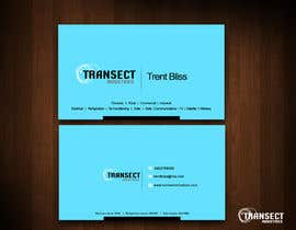 #53 untuk Business Card Design for Transect Industries oleh vigneshsmart