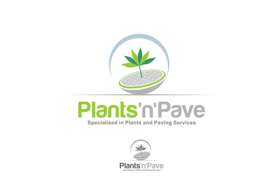 #486 for Logo Design for Plant 'N' Pave by dimitarstoykov