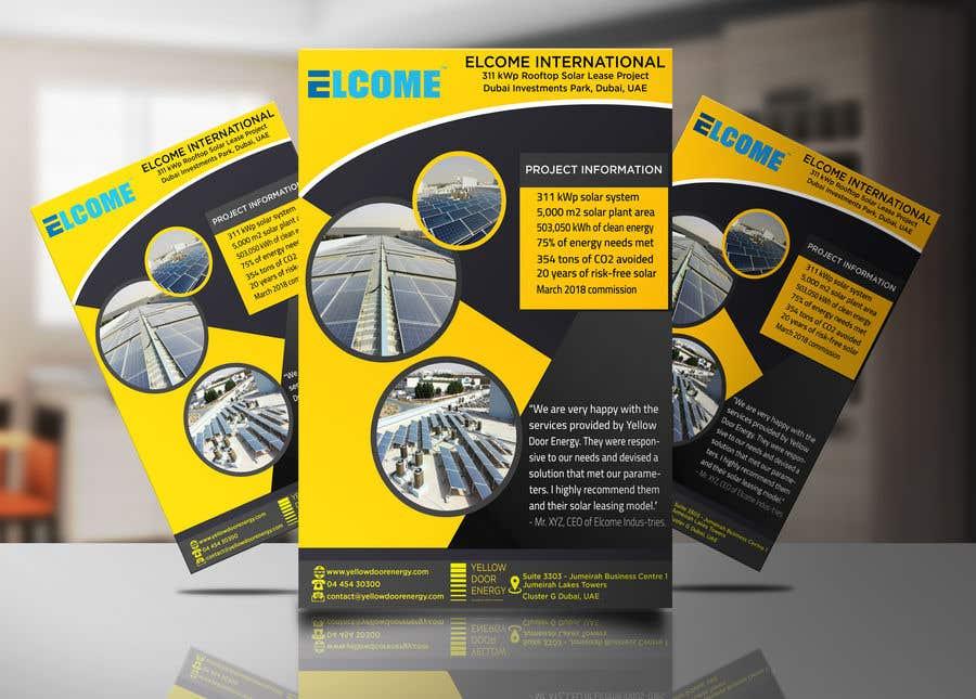 Entry 3 by khaledalmanse for design 1 page case study template contest entry 3 for design 1 page case study template maxwellsz