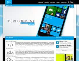 Nro 4 kilpailuun Website Design for OutCode käyttäjältä Enka