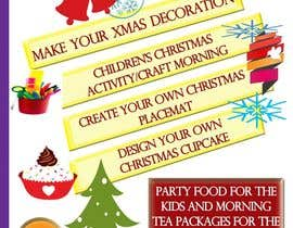 kvd05 tarafından Design a Flyer for Christmas kids party için no 10