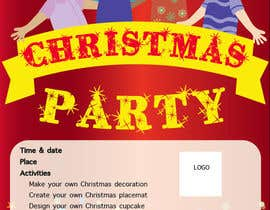 MlleTina tarafından Design a Flyer for Christmas kids party için no 14